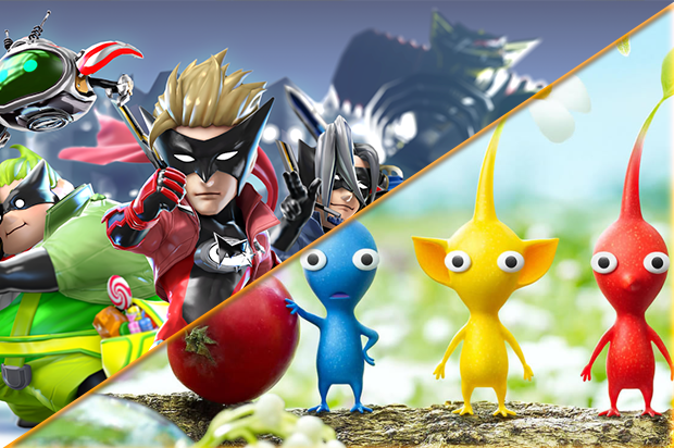 Wonderful-101-and-Pikmin-3
