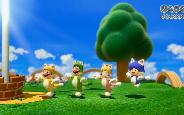Mario-cat-suits